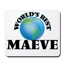 World's Best Maeve Mousepad