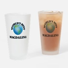 World's Best Magdalena Drinking Glass