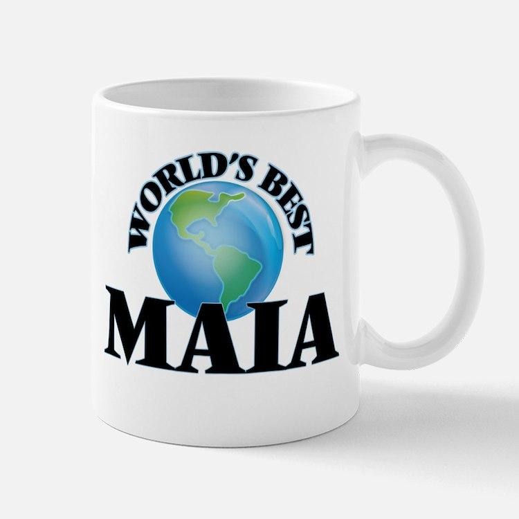 World's Best Maia Mugs