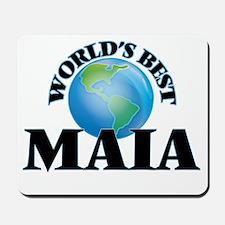 World's Best Maia Mousepad