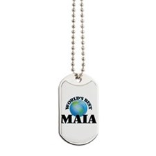 World's Best Maia Dog Tags