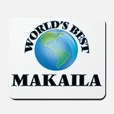 World's Best Makaila Mousepad