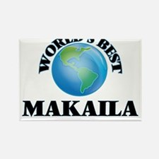 World's Best Makaila Magnets