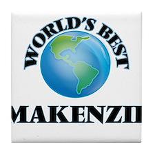 World's Best Makenzie Tile Coaster