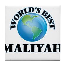 World's Best Maliyah Tile Coaster