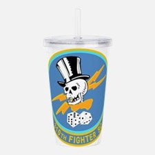 310_fighter_sq.png Acrylic Double-wall Tumbler