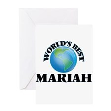 World's Best Mariah Greeting Cards
