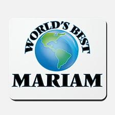 World's Best Mariam Mousepad