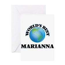 World's Best Marianna Greeting Cards