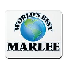 World's Best Marlee Mousepad