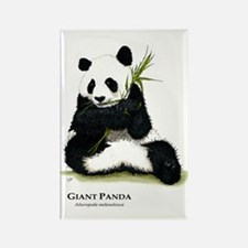 Giant Panda Rectangle Magnet