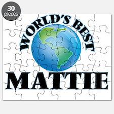 World's Best Mattie Puzzle