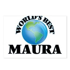 World's Best Maura Postcards (Package of 8)