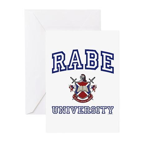 RABE University Greeting Cards (Pk of 10)