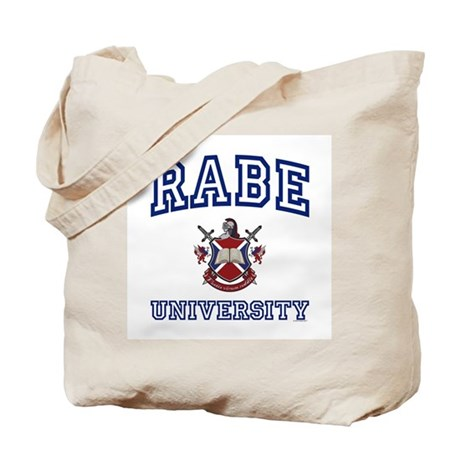 RABE University Tote Bag