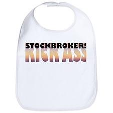 Stockbrokers Kick Ass Bib
