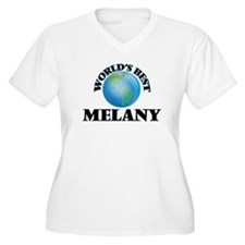 World's Best Melany Plus Size T-Shirt