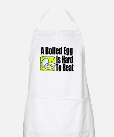 Boiled Egg Kitchen Apron