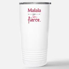 Malala is fierce Travel Mug