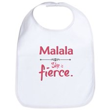Malala is fierce Bib