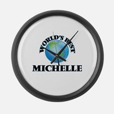 World's Best Michelle Large Wall Clock
