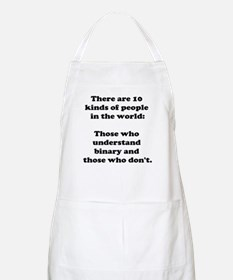 10 Kinds of People<br> BBQ Apron