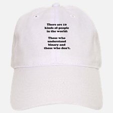 10 Kinds of People<br> Baseball Baseball Cap