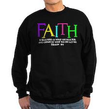 Unique Christian faith Sweatshirt