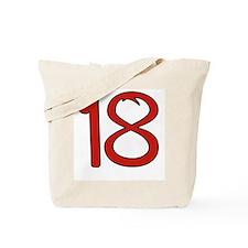 Bitch 18 Tote Bag