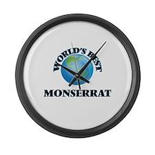 World's Best Monserrat Large Wall Clock