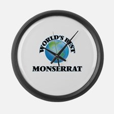 World's Best Monserrat Large Wall Clock