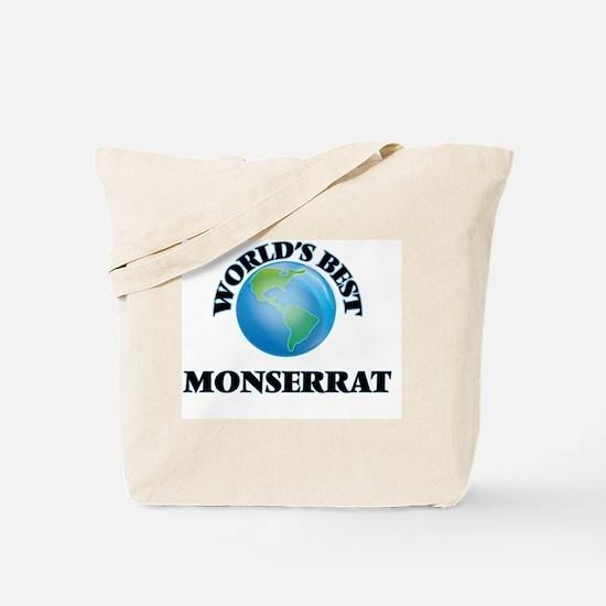 World's Best Monserrat Tote Bag