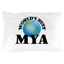 World's Best Mya Pillow Case