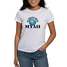 World's Best Myah T-Shirt