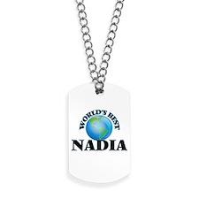 World's Best Nadia Dog Tags