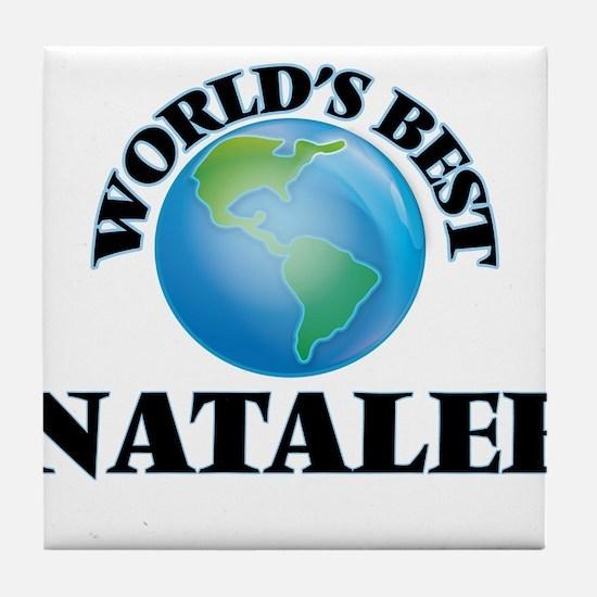World's Best Natalee Tile Coaster