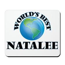 World's Best Natalee Mousepad