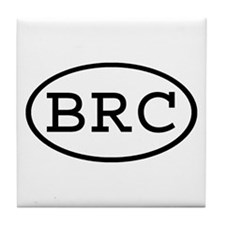 BRC Oval Tile Coaster