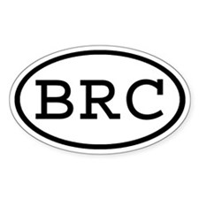 BRC Oval Oval Decal