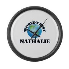 World's Best Nathalie Large Wall Clock