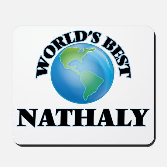 World's Best Nathaly Mousepad