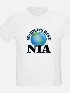 World's Best Nia T-Shirt