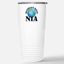 World's Best Nia Stainless Steel Travel Mug