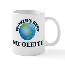 World's Best Nicolette Mugs