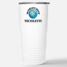 World's Best Nicolette Stainless Steel Travel Mug
