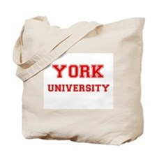 YORK UNIVERSITY Tote Bag