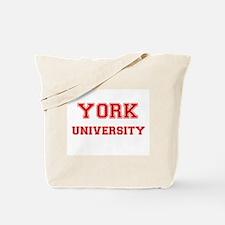 YORK UNIVERSITY Tote Bag