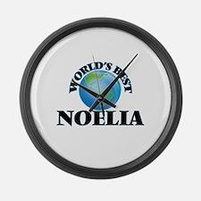 World's Best Noelia Large Wall Clock