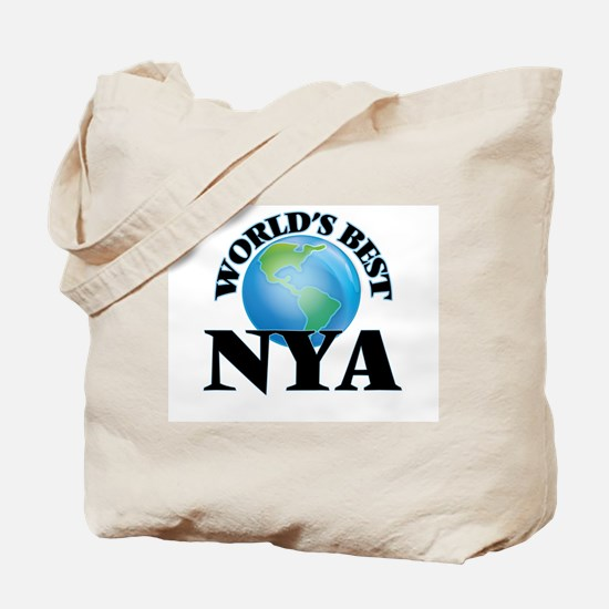 World's Best Nya Tote Bag