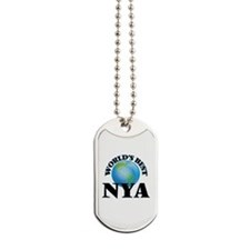 World's Best Nya Dog Tags